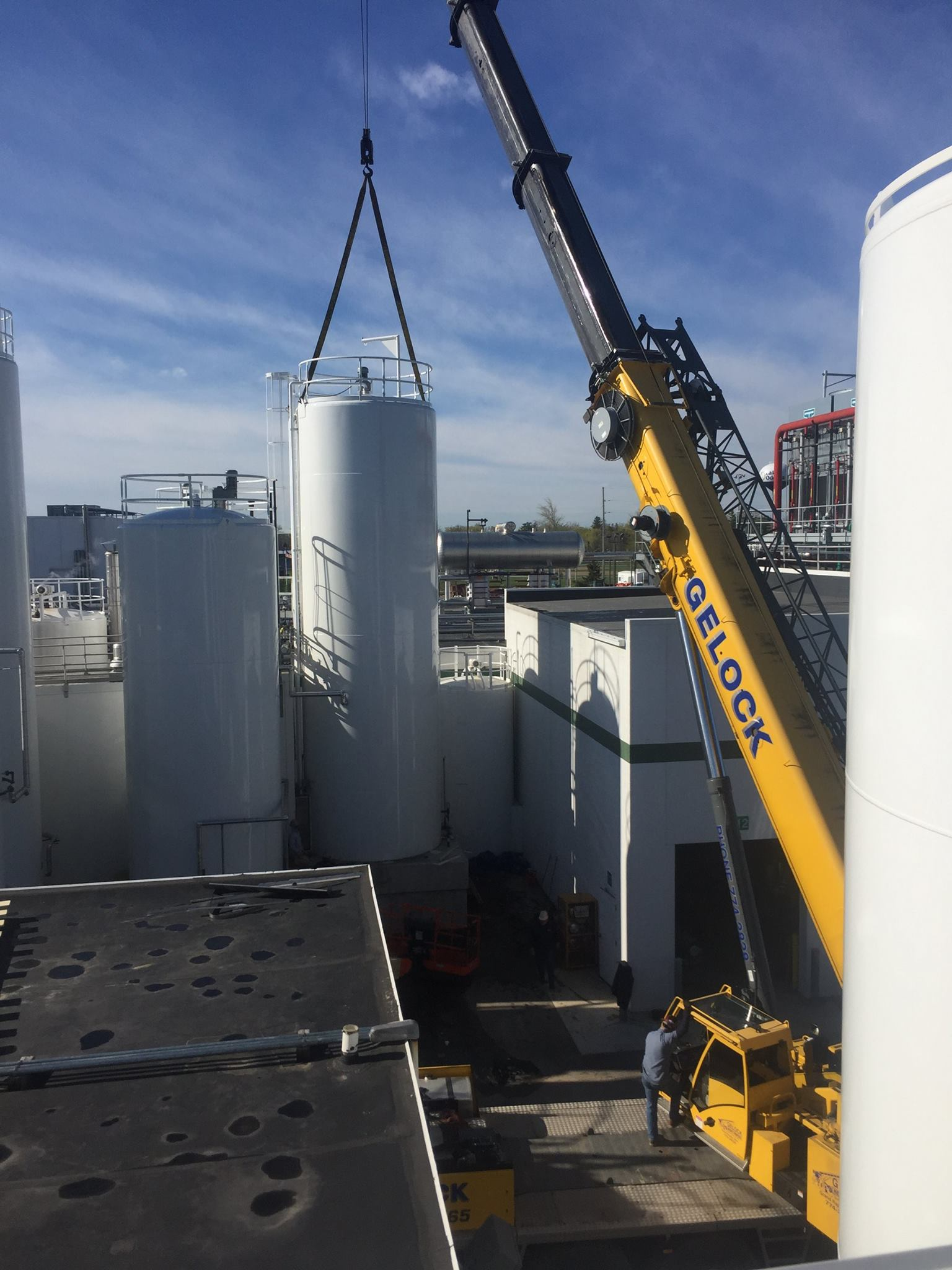 Tank Installation for a Dairy Client